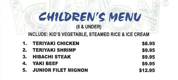 childrens-menu